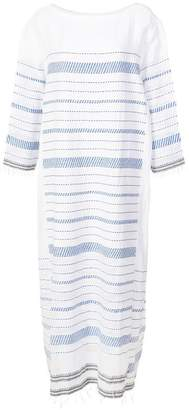 Lemlem Tiki side panel dress