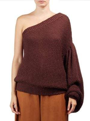 Stella McCartney One-Shoulder Sweater