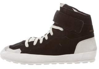 Etoile Isabel Marant Bessy Hip Hop High-Top Sneakers