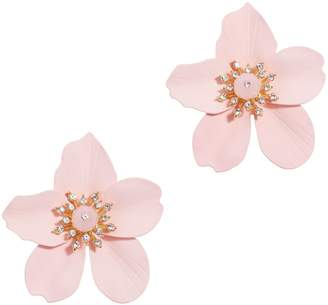 Lilly Pulitzer R) Oversize Orchid Earrings