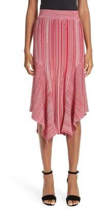 Yigal Azrouel Melange Knit Skirt