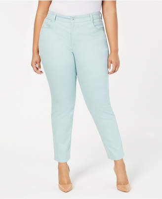 Style&Co. Style & Co Plus Size Color Wash Skinny Jeans