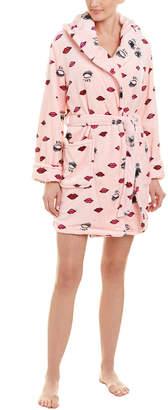 Betsey Johnson Royal Plush Robe