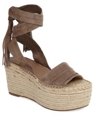 Women's Marc Fischer Ltd Rabecca Lace-Up Platform Wedge $159.95 thestylecure.com