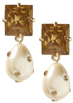 Banana Republic Embellished Pearl Drop Earring