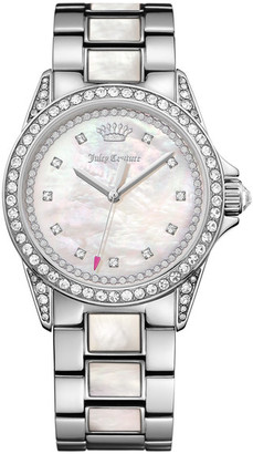 Juicy Couture Women's Charlotte Crystal Bracelet Watch $350 thestylecure.com
