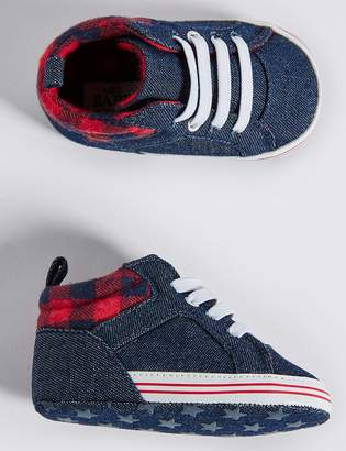 Marks and Spencer Baby Denim Pram Shoes