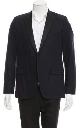 Ami Alexandre Mattiussi Wool Two-Button Blazer
