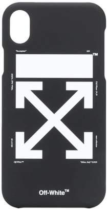 Off-White logo i-phone X case