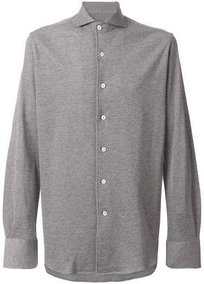 Canali button-down fitted shirt