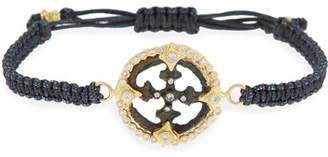 Armenta Sueño Artifact Diamond Cord Bracelet