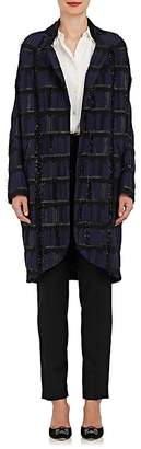Zero Maria Cornejo Women's Eka Cotton-Blend Fil Coupé Coat