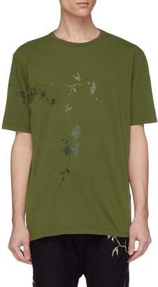 Haider Ackermann Floral print T-shirt