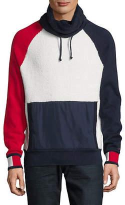 Tommy Hilfiger Jeff Funnel Neck Cotton Sweater