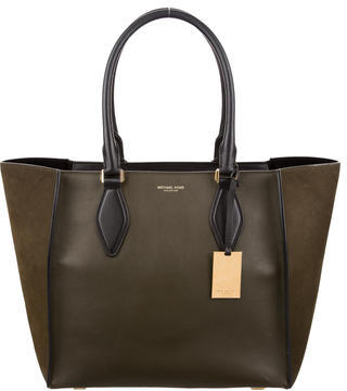 MICHAEL Michael Kors Michael Kors Collection Suede & Leather Gracie Tote