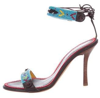 DSQUARED2 Embellished Wrap-Around Sandals