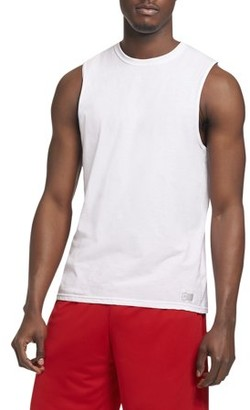 4b04d3be4445d2 Russell Athletic Men s Essential Dri-Power Muscle T-Shirt with 30+ UPF