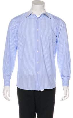 Valentino Striped Dress Shirt