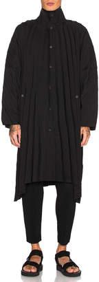 Issey Miyake Homme Plisse Edge Coat