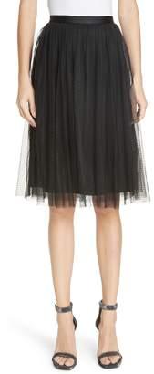 Needle & Thread Dotted Tulle Skirt