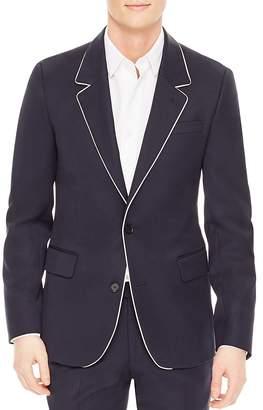 Sandro Notch Slim Fit Cocktail Jacket