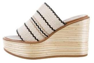 See by Chloe Knit Wedge Sandals