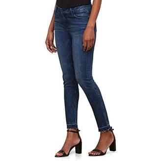 Kenneth Cole Women's Frayed Hem Skinny Jean
