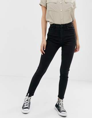 Pimkie high rise skinny jean in black