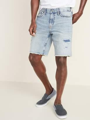 Old Navy Slim Built-In Flex Distressed Cut-Off Jean Shorts for Men
