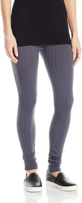 Hue Women's Cable Brushed Seamless Leggings