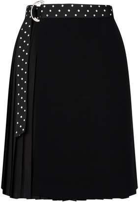 Claudie Pierlot Pleated Wrap Skirt