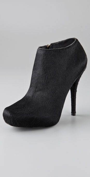Elizabeth And James Fiona Haircalf Ankle Booties