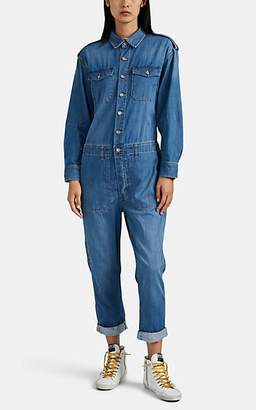 "Current/Elliott Women's ""The Crew Coverall"" Jumpsuit - Blue"