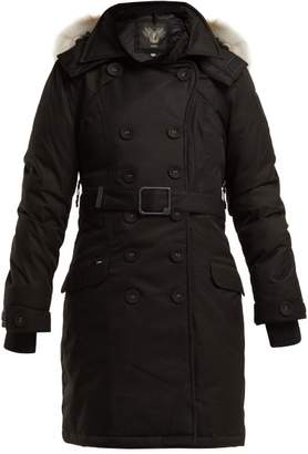 Tula Nobis Double Breasted Down Coat - Womens - Black