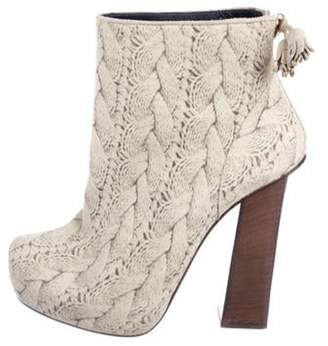 Pollini Printed Ankle Boots Printed Ankle Boots