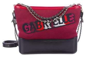 Chanel 2017 Felt Gabrielle Bag