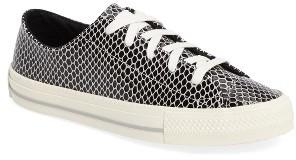 Women's Converse Chuck Taylor All Star Gemma Snake Ox Sneaker $84.95 thestylecure.com