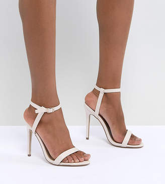 Missguided exclusive barely there heeled sandals