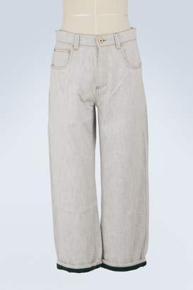 Carven Wide-leg cotton pants