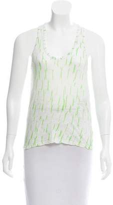 Proenza Schouler Printed Sleeveless Top