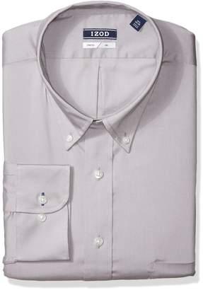 Izod Men's Tall Dress Shirts Stretch Big Fit Solid
