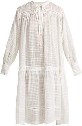 DAY Birger et Mikkelsen LEE MATHEWS Laura checked cotton-muslin dress