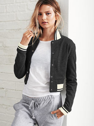 Victorias Secret Cropped Bomber Jacket $49.99 thestylecure.com
