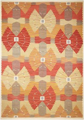 Nalbandian Kilim Flatweave Hand-Woven Wool Egyptian Rug