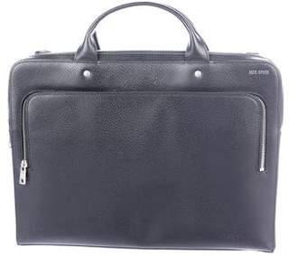Jack Spade Leather Slim Briefcase