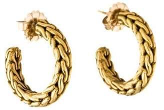 John Hardy 18K Hoop Earrings