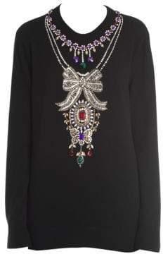 Dolce & Gabbana Jewel Crewneck Sweater