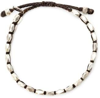 M. Cohen faceted bead bracelet