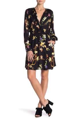 Hale Bob Floral Long Sleeve Dress