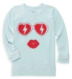 Chaser Little Girl's& Girl's Heart Shades Tee